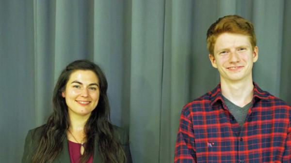 Nina Boidol und Anton Halbrügge