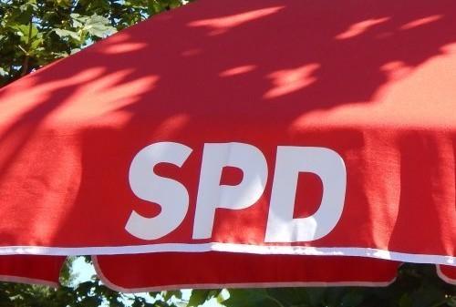 Schirm der SPD